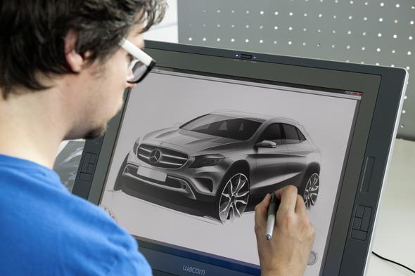 Design Entwicklung GLA