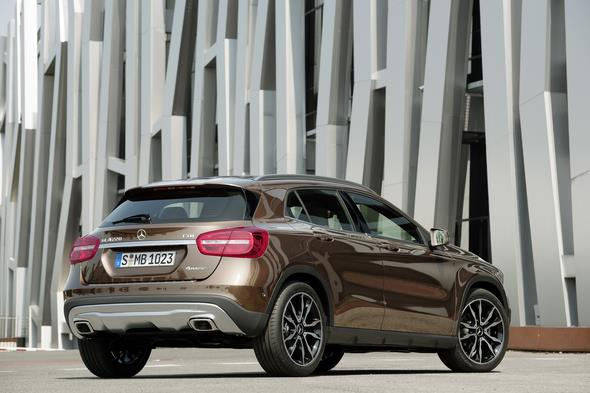 Mercedes-Benz GLA 220 CDI 4MATIC (X 156) 2013