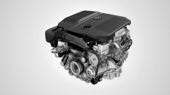 Mercedes Benz Motor OM 651