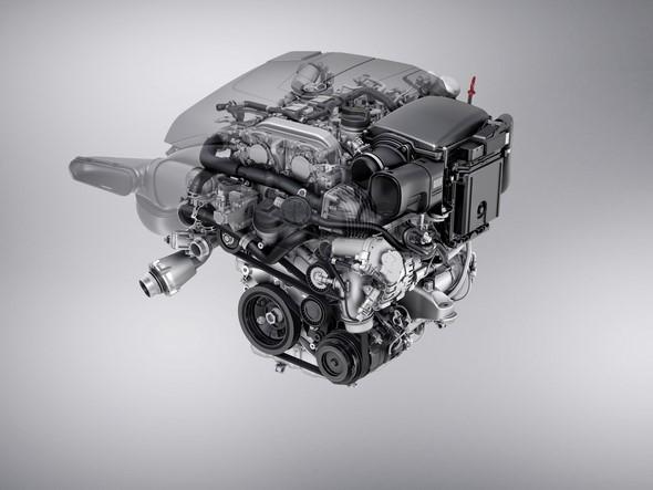 Mercedes Benz Motor M 274