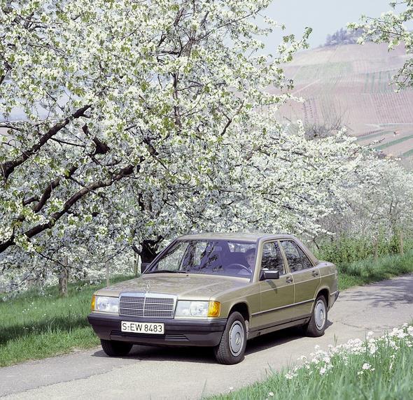 MB Kompaktklasse-Limousine der Baureihe 201