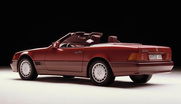 Caption orig.: Mercedes-Benz Typ 300 SL, Baureihe 129