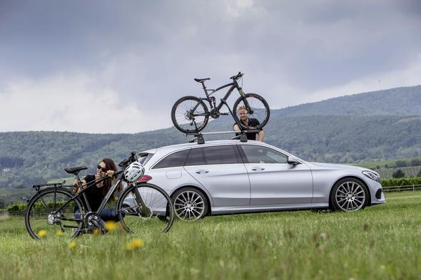 Mercedes Benz; C-Klasse T-Modell Fahrvorstellung, Frankfurt/Deid
