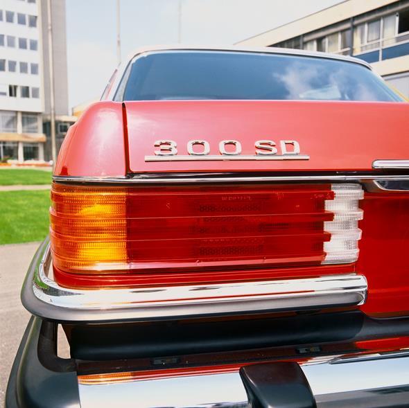 Mercedes-Benz Typ 300 SD Turbodiesel Limousine, USA-Ausführung aus dem Jahre 1977.