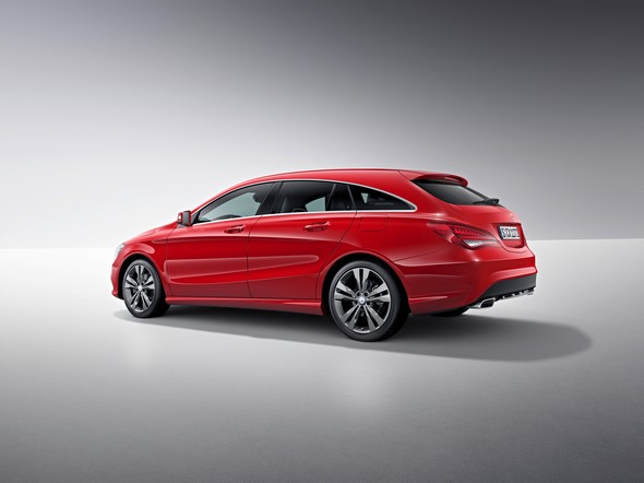 Mercedes-Benz CLA Shooting Brake (X117) 2014