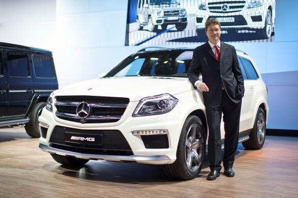 Ola Källenius, Vorsitzender der Geschäftsführung der Mercedes