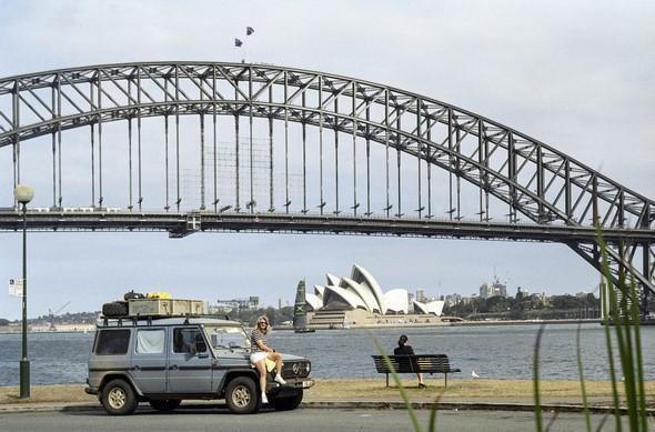 2002: Otto in Sydney, Australien 2002: Otto in Sydney, Australia