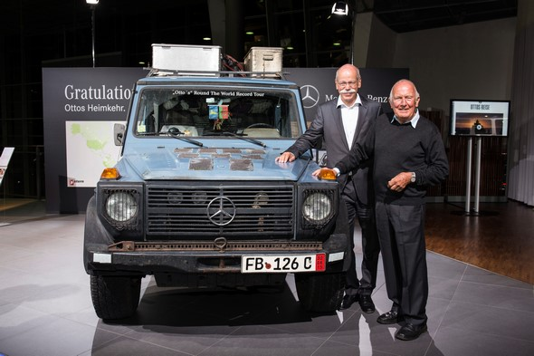 """Otto"" and G-Class Edition 35"