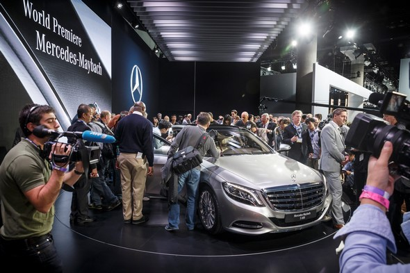 Mercedes-Benz auf der Los Angeles International Auto Show 2014 Mercedes-Benz at the Los Angeles International Auto Show 2014