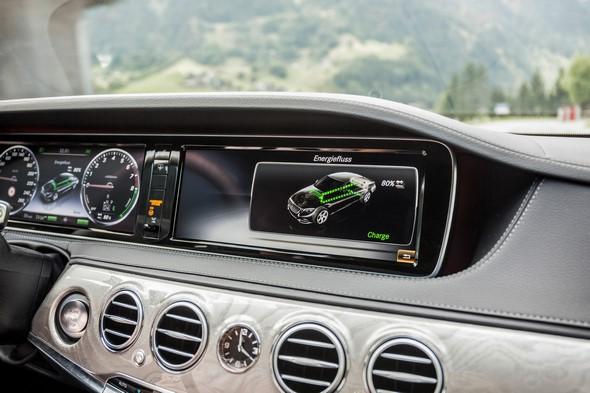 Mercedes-Benz S-Klasse. S 500 PLUG-IN HYBRID (V222), 2014