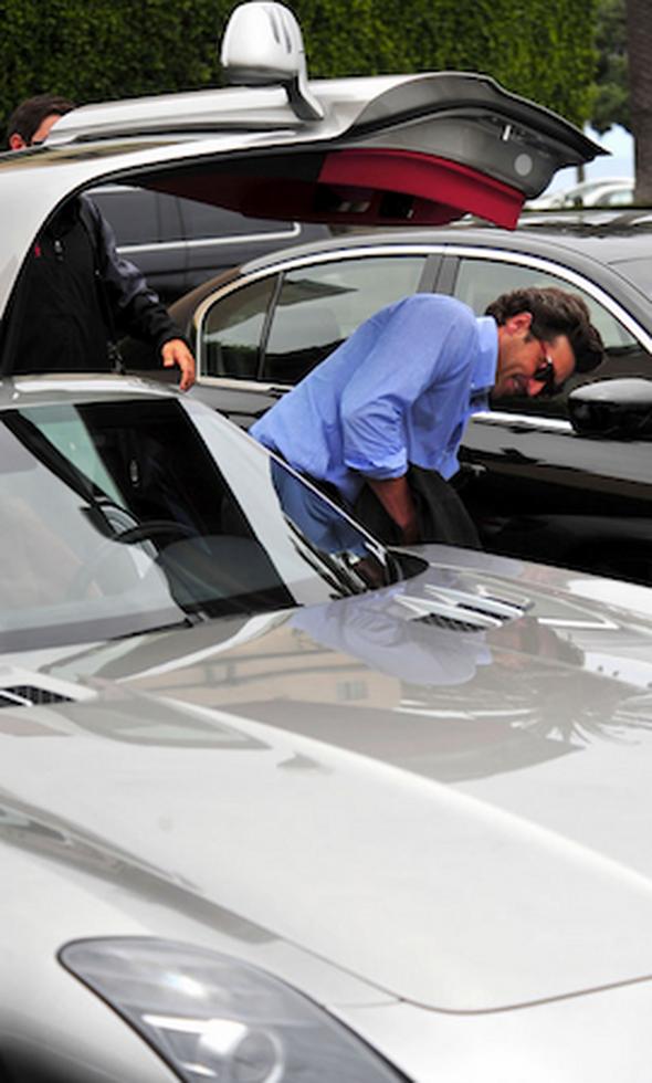 Patrick-Dempsey-Mercedes-Benz-SLS-AMG1