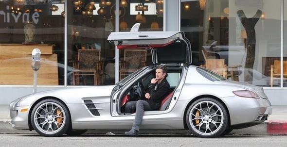 Patrick-Dempsey-Mercedes-SLS