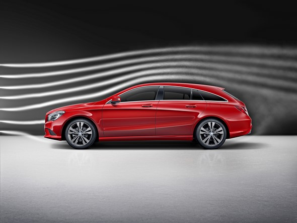 CLA Shooting Brake (X117) 2015, Aerodynamik CLA Shooting Brake (