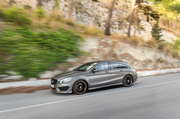 Mercedes-Benz CLA 250 4MATIC Shooting Brake (X117) 2014