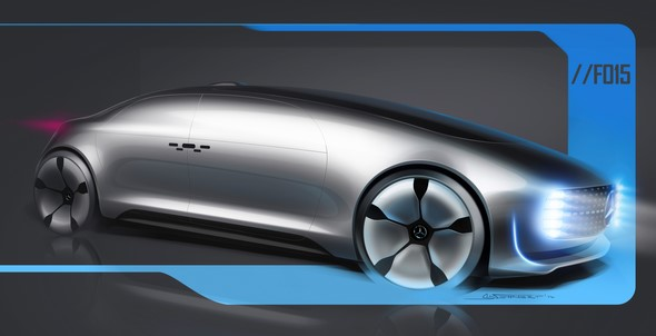Mercedes-Benz F015 - Luxury in Motion