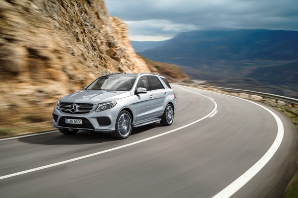 Mercedes-Benz GLE, W 166,  face lift 2015