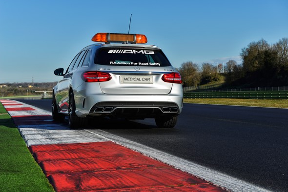 Mercedes-AMG C 63 S T-Modell als Official Medical Car der FIA Fo