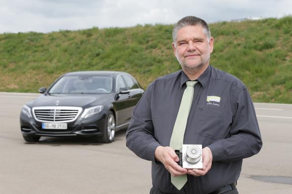 Frank-Werner Mohn, Mercedes-Benz Entwickler und Miterfinder von ESP