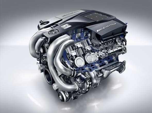 Mercedes-AMG GLE 63 (C 292, W 166); 5,5-Liter V8-Biturbomotor, 430 kW(585 PS), 760 Nm 5.5-litre V8-biturbo engine, 430 kW(585 hp), 760 Nm