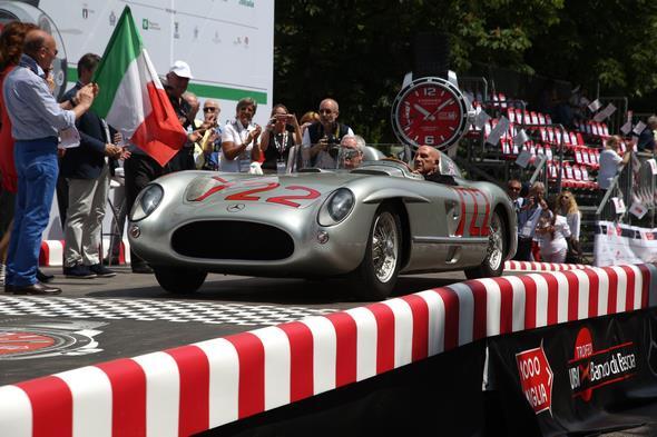 Mille Miglia - Do 14.5.2015 Brescia-Rimini - Stirling Moss