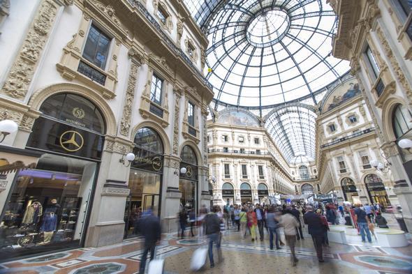Mercedes me Store Milan, Italy