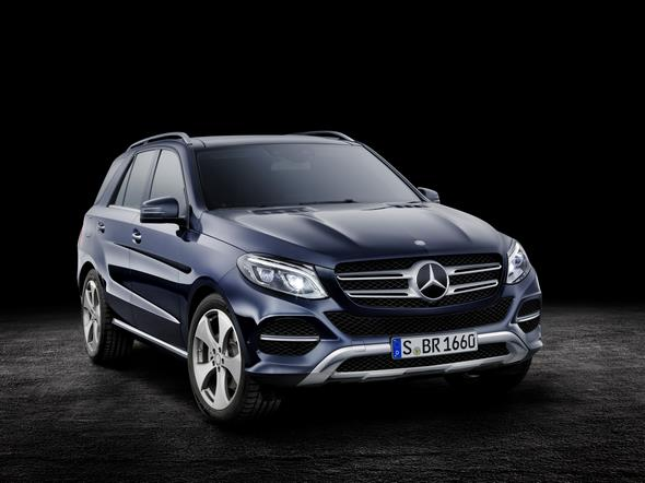 GLE 250 d, W 166, 2015 Exterieur: Cavansitblau Metallic Exterior: cavansite blue metallic