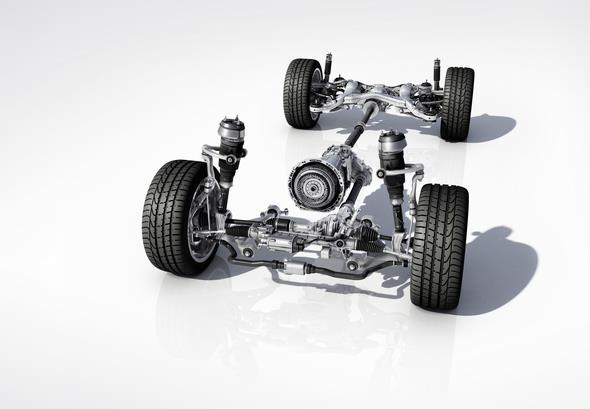 Mercedes-AMG GLE 63 (W 166) 2015, Antriebstrang; powertrain