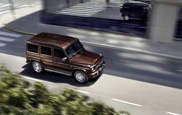 Mercedes-Benz G-Class (BR 463) 2015; AMG G 63;  Exterierur: designo mysticbraun bright;  exterior: design mystic brown bright