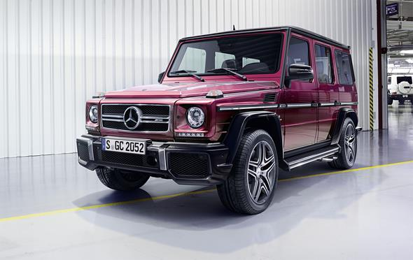 Mercedes-Benz G-Class (BR 463) 2015; AMG G63; Exterior: galactic beam