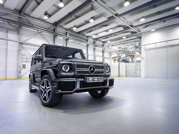 Mercedes-Benz G-Class (BR 463) 2015; AMG G 65; Exterieur: tenoritgrau metallic exterior: tenorite grey metallic