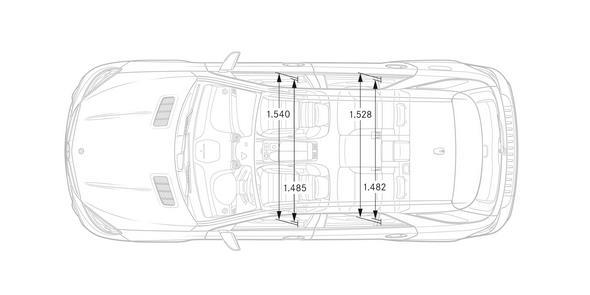 Mercedes-AMG GLE (W 166) 2015, Maßzeichnung, dimension drawing