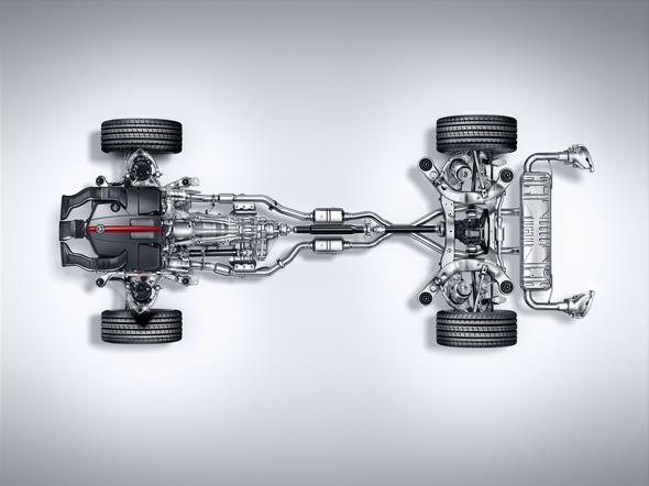 Mercedes-Benz GLE 450 AMG (C 292) 2015, Fahrwerk und Antriebsstrang, chassis and power train