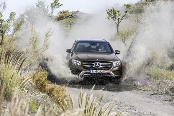 Mercedes-Benz GLC 220d 4MATIC (X 253) 2015, CITRINBRAUN MAGNO, Artico/Stoff Espresso, Offroad Line Exterieur