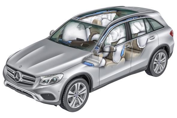Mercedes-Benz GLC (X 253) 2015, Airbagsystem