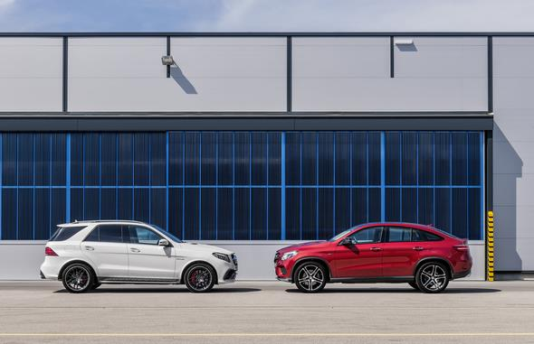 Mercedes-AMG GLE 63 S, W 166, face lift 2015 Mercedes-Benz GLE Coupé (2014)