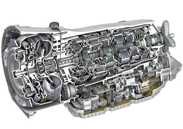 Mercedes-Benz Automatik-Getriebe 9G-TRONIC, 2013 Mercedes-Benz automatic transmission 9G-TRONIC