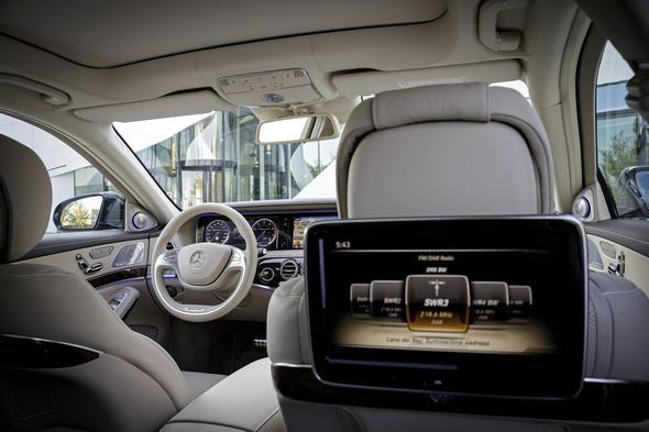 Mercedes-Benz S 65 AMG (V 222) 2013, Lack: blauantrazith metallic