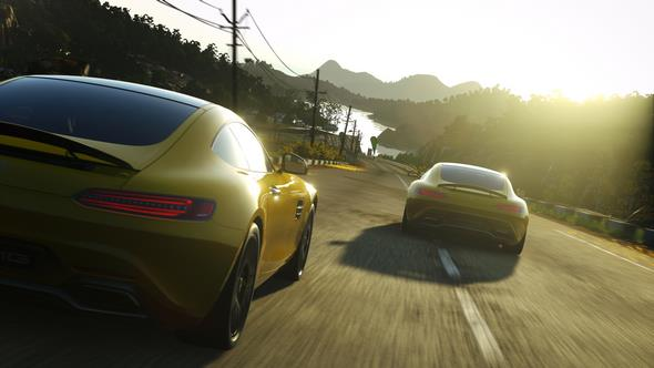Mercedes-AMG GT in DRIVECLUB™
