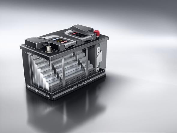 Mercedes-AMG GT (C 190) 2014; Lithium-Ionen-Batterie Lithium-ion battery