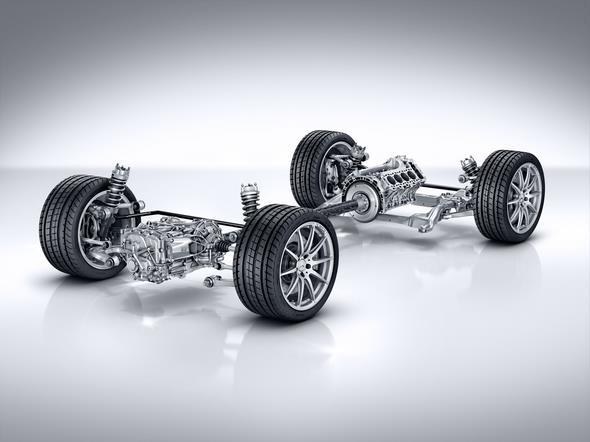 Mercedes-AMG GT (C 190) 2014; AMG Sportfahrwerk AMG sports suspension