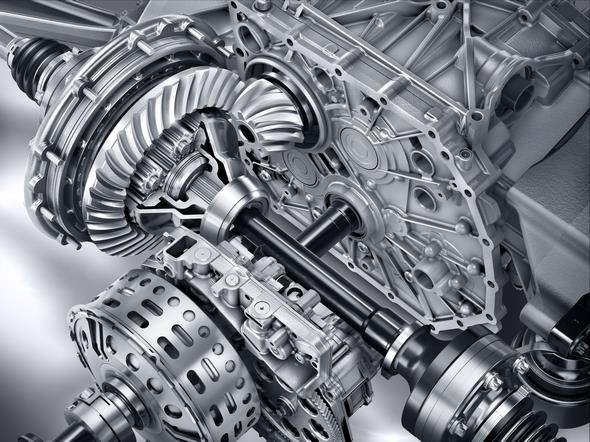 Mercedes-AMG GT (C 190) 2014; Elektronisches Hinterachs-Sperrdifferenzial Electronic rear axle differential lock
