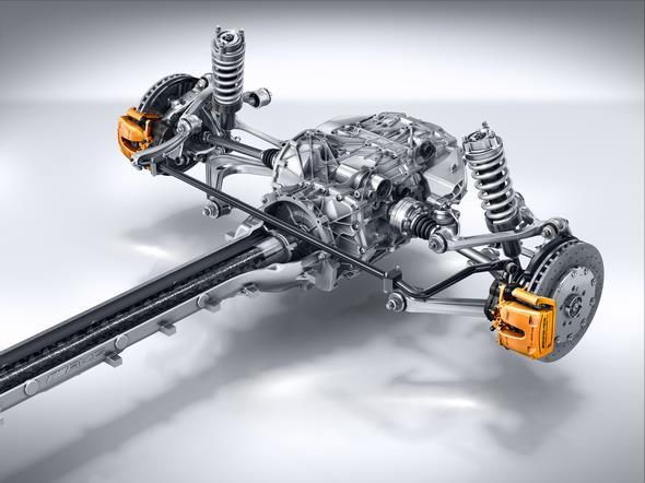 Mercedes-AMG GT (C 190) 2014; Torque Tube