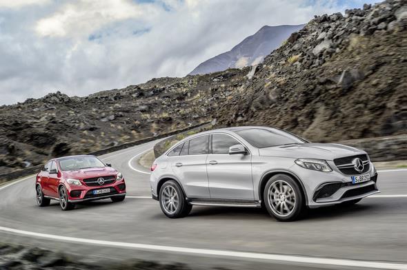 GLE 450 AMG 4MATIC (C 292), Mercedes-AMG GLE 63 (C 292) 2014