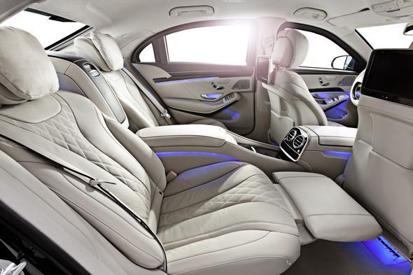 Mercedes-Benz S-Klasse Guard. Das Interieur der S-Klasse Guard verfügt über den gleichen Komfort und Anmutung wie die Serienmodelle.