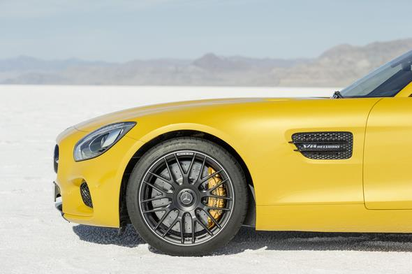 Mercedes-AMG GT (C 190) 2014, Exterieur: AMG Solarbeam, AMG Night paket Exterieur, exterior: AMG solarbeam; AMG Exterior Night package