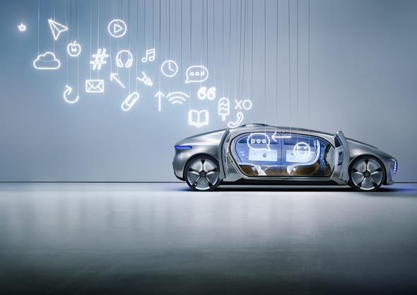 Mercedes-Benz Vision vom autonomen Fahren inszeniert von Sarah Illenberger // Mercedes-Benz vision of autonomous driving staged by Sarah Illenberger