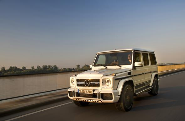PTD G – Experience Frankfurt September 2015 G 63 AMG Edition 463 Polar weiss