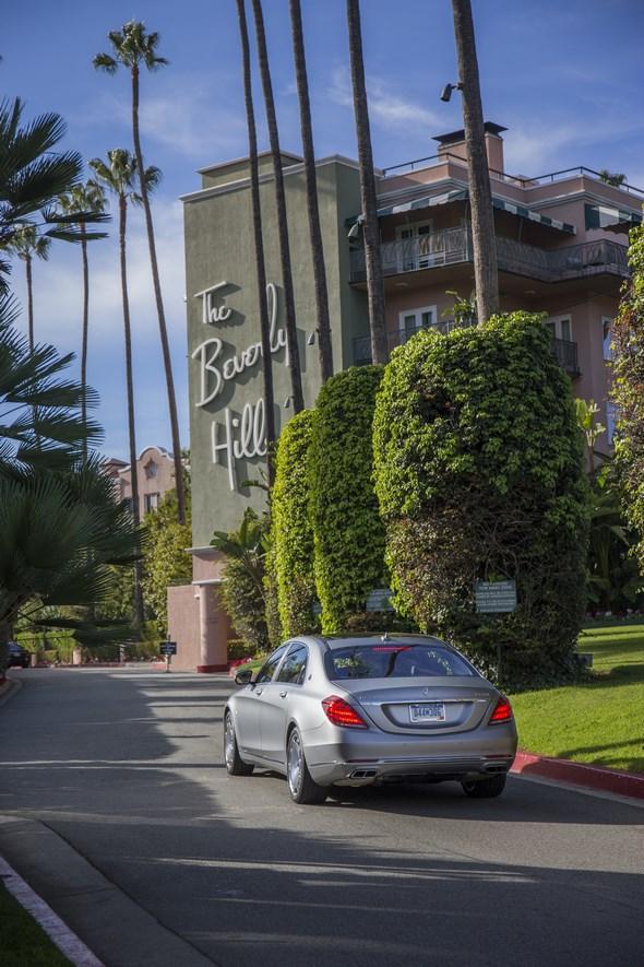 Mercedes-Maybach S 600 and S-Class Model Range pressdrive Santa Barbara 2015 , S600 Designo Magno Allanite Grey, Exclusive Nappa Leather black/black