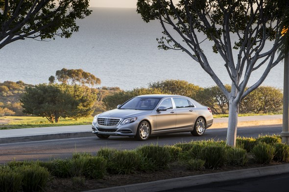 Mercedes-Maybach S 600 and S-Class Model Range pressdrive Santa Barbara 2015 , S600 Designo Magno Allanite Grey, Exclusive Nappa Leather black/black