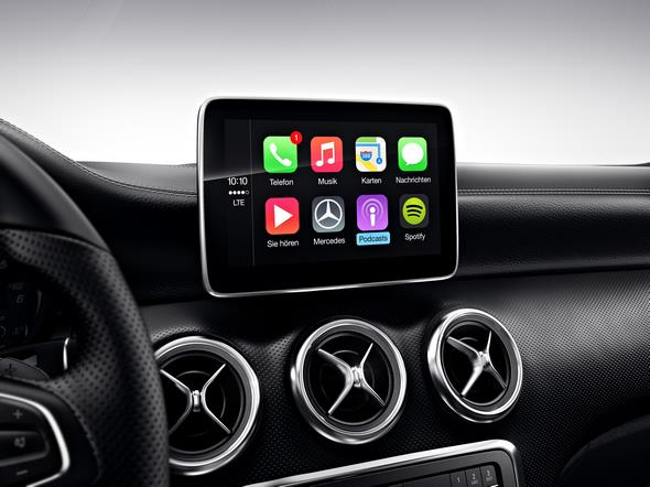 Apple CarPlay Smartphone Integrationspaket Apple CarPlay smartphone integration package